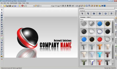 aurora 3d text amp logo maker download freeware de