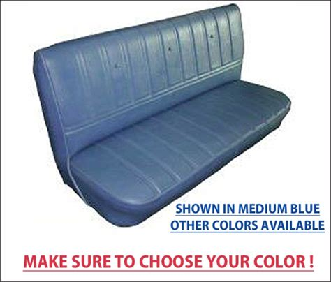 chevy truck bench seat covers 1973 80 chevrolet truck standard cab bench seat factory