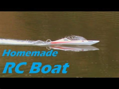 fast homemade boat home made fast rc boat fiberglass youtube