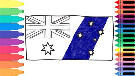 australia flag colors how to draw australia flag drawing the australian flag