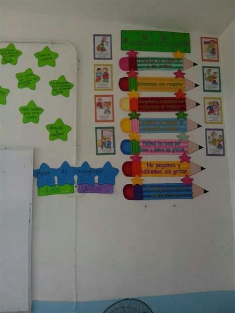 normas para decorar un salon normas de clase educaci 243 n pinterest