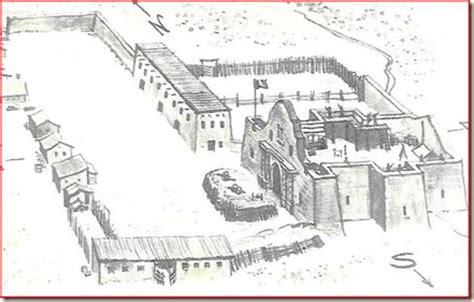 Alamo Floor Plan 1836 by Alamo Layout 1836 Quotes