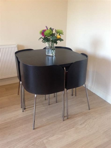 space saving dining table ikea dining table and four chairs neat space saving