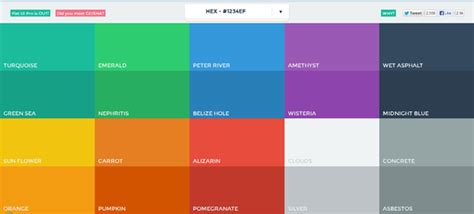 web colors 2017 getting started with flat ui design sitepoint