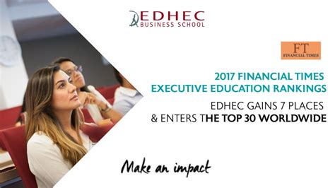 Edhec Mba Ranking Economist by Edhec Business School