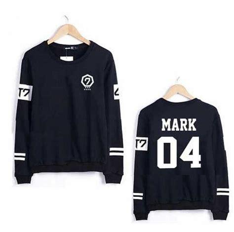 Hoodie Got Diskon 2015 got7 striped member name print hoodie got 7