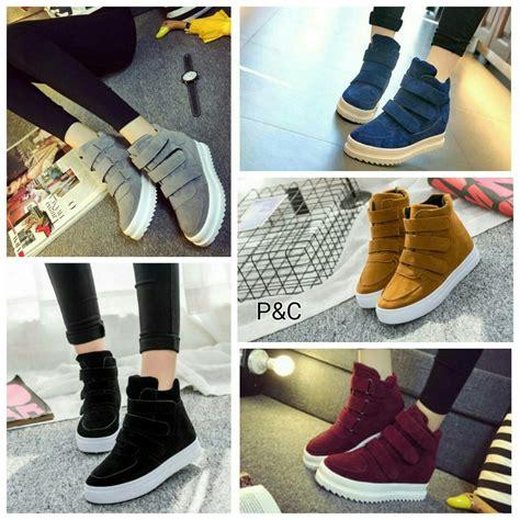 Sepatu Boots Cewek Casual Boots Wanita Fashion Catenzo Ye 091 jual sepatu sneakers boots korea wanita sepatu boot casual cewek cantik diskon di lapak jexnes