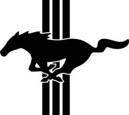 Ford Mustang Symbol Ford Mustang Logo Emblem Vinyl By Freshcutcustomvinyl On