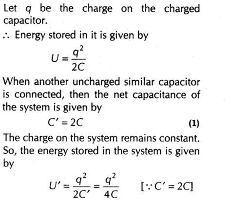 an uncharged capacitor has parallel plates cm on a side spaced mm apart important questions for cbse class 12 physics capacitance