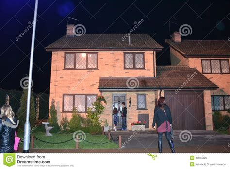 harry potter home dursley house warner harry potter tour london leavesden editorial image image 45964325