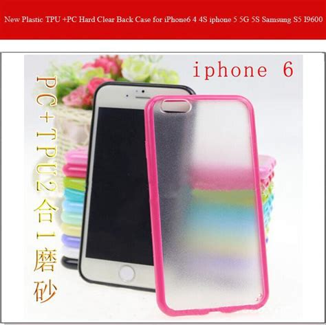 Iphone 4 4s Hardcase Tpu Pc Acrylic 0630 new plastic tpu pc clear back for iphone6 4 4s iphone 5 5g 5s samsung s5 i9600 cell