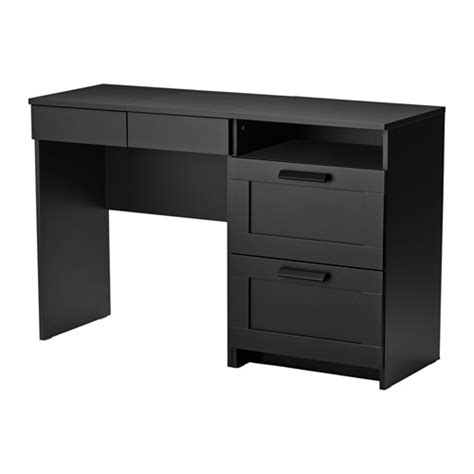 Black Vanity Table Ikea Brimnes Dressing Table Chest Of 2 Drawers Black Ikea