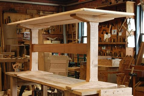 trestle table peter follansbee joiners notes