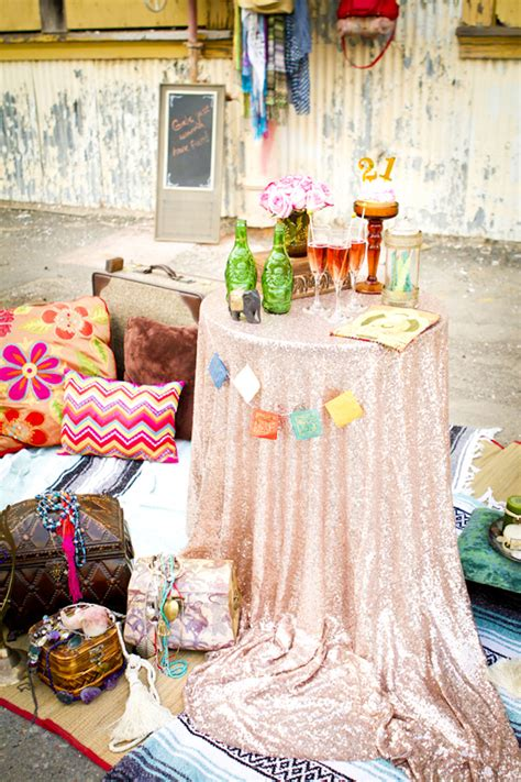 unconventional bridal shower themes alternative weddings week eclectic bridal shower decor