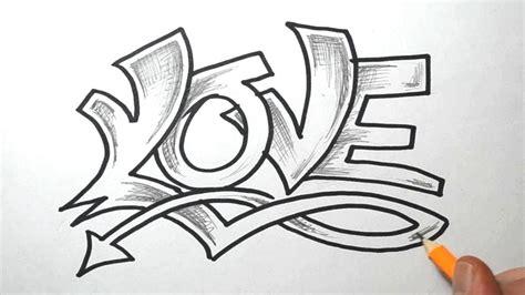 graffiti schrift love neu stile mit bildern graffiti