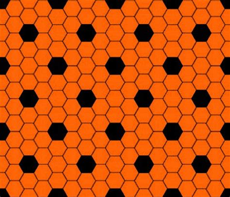 orange pattern web orange and black hexagon tile seamless background pattern
