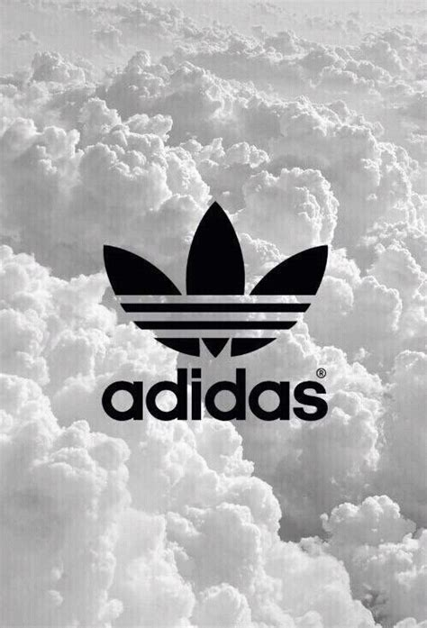 adidas apple wallpaper adidas b w black logo minimal water weheartit white
