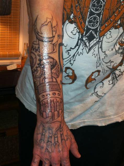 tattoo robot hand my robotic hand and arm tattoos pinterest robot hand
