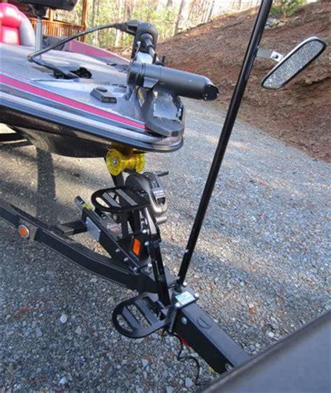 boat winch pole boat trailer steps