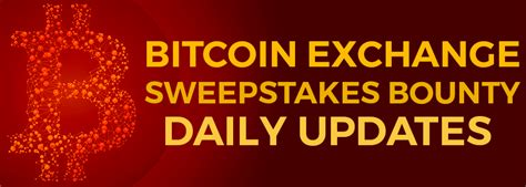 Last Chance Sweepstakes - last chance ark btc sweepstakes daily update ark io blog