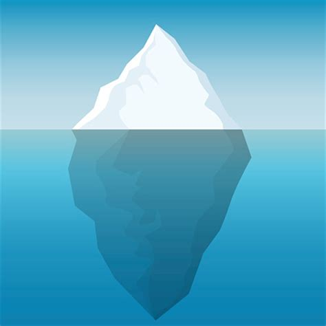 clipart iceberg iceberg clip vector images illustrations istock