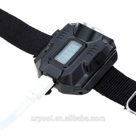 wrist light flashlight led wrist light usb rechargeable flashlight led