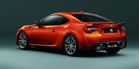 car toyota 2017 toyota 86 updated and uprated sports car confirmed