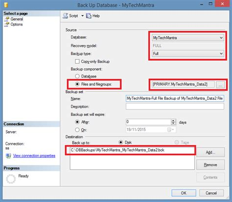 Creating A Document Tutorial Webucator - file backup in sql server step by step tutorial with