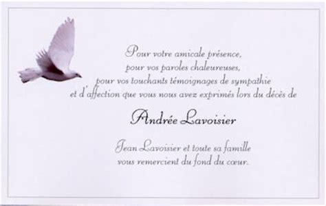 Exemple De Lettre De Remerciement Pour Un Deuil Cartes De Remerciement De Deces Suite 224 Des Condol 233 Ances