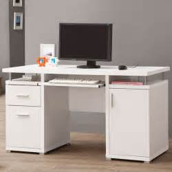 Warehouse Computer Desk Computer Desk White Contemporary Desks And Hutches By Modern Furniture Warehouse