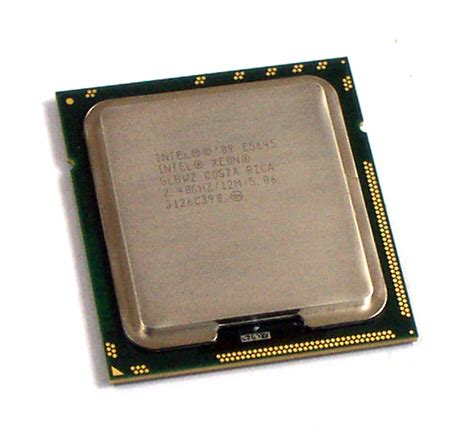 hexa processor mobile intel slbwz xeon 2 4ghz 12m hex socket 1366 processor