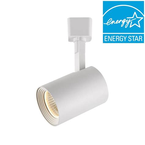 dimmable led lighting hton bay white dimmable led cylinder track lighting