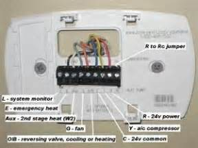 honeywell digital thermostat wire diagrams easy simple detail ideas general exle best routing