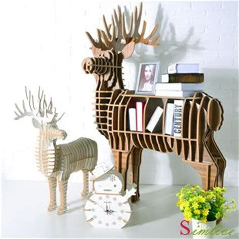 deer table deer bookself for home decoration fashion