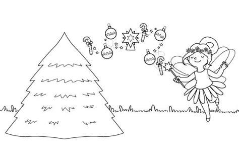 arbol navidad imprimir el hada y su 225 rbol de navidad dibujo para colorear e imprimir