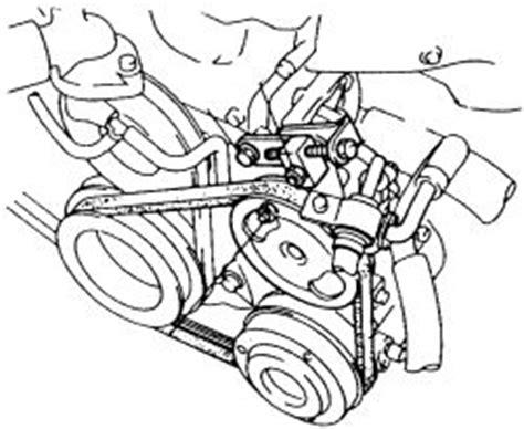 mazda  lx alternator belt broke  mydiagram