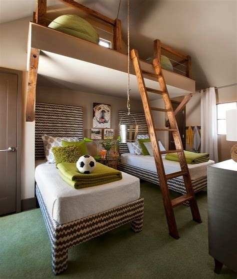 bedroom with loft loft beds for adults coolest and loveliest ideas