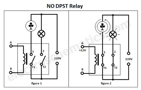 spst switch wiring diagram dpst relay diagram wiring