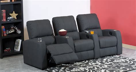 Reclining Theater Chairs by Reclining Theater Sofa Palliser 41952 Elite Home Theater