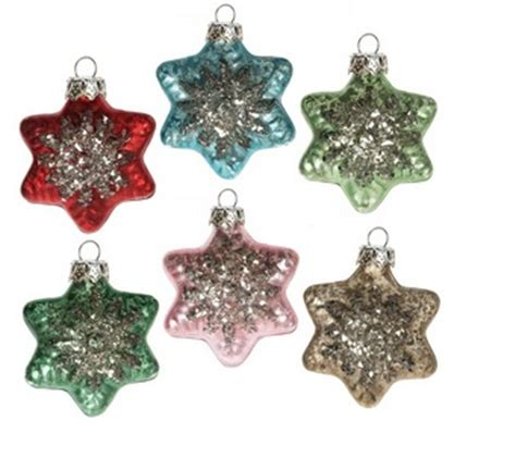 glass ornaments singles and sets