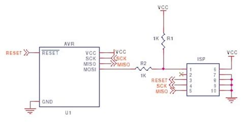 avr schematic circuits usb avr programmer l25233 next gr