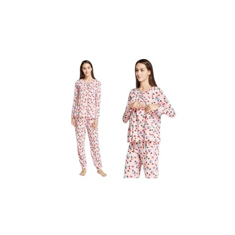 Caeley Piyama Pajamas Sleepwear Baju Tidur mamaway minnie lollipop maternity nursing pajamas