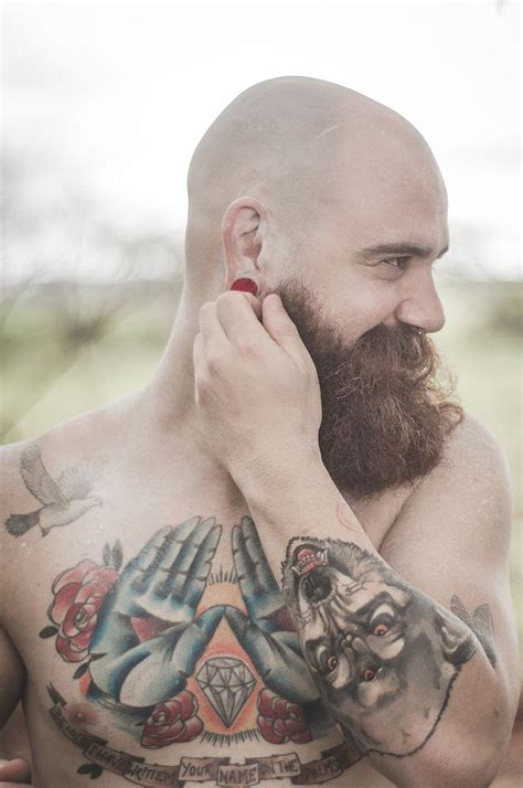 male pattern baldness tattoo 17 best images about bald and bearded on pinterest male