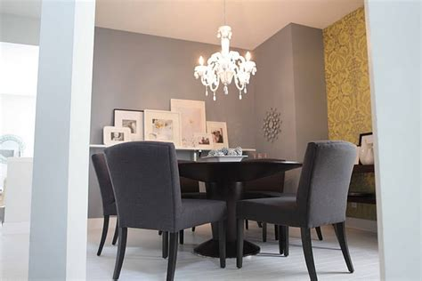 Mustard Dining Room by Mustard And Gray Dining Room For The Home
