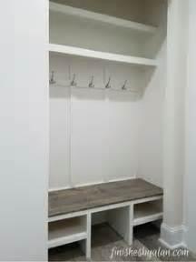 closet bench ryobi nation entryway closet nook mudroom clever and minis
