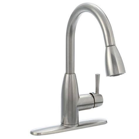 Kitchen Faucet Brand Names by American Standard Fairbury Single Handle Pull Sprayer