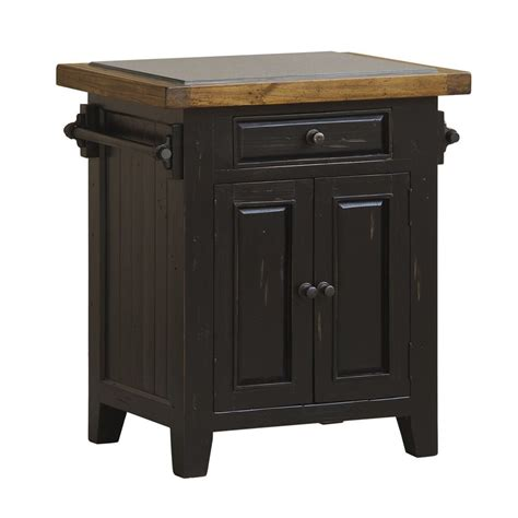 kitchen island black shop hillsdale furniture black farmhouse kitchen island at