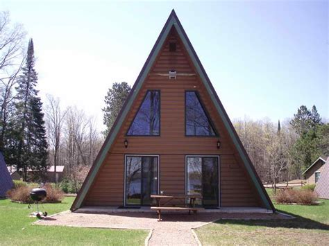 modular a frame homes cabin mountain house plans small cabins tiny houses