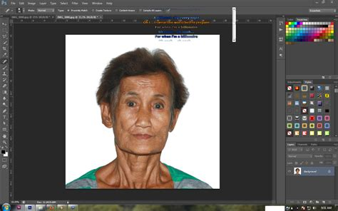 tutorial edit adobe photoshop how to make an id picture 2x2 1x1 in adobe photoshop