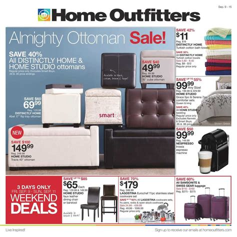 home outfitters flyer september 9 to 15